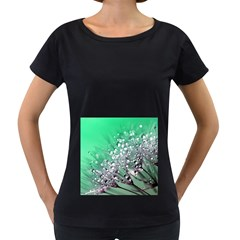 Dandelion 2015 0718 Women s Loose Fit T Shirt (black) by JAMFoto