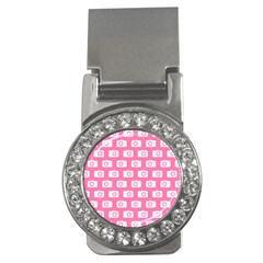 Pink Modern Chic Vector Camera Illustration Pattern Money Clips (cz)  by creativemom