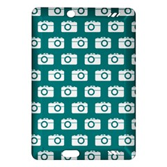Modern Chic Vector Camera Illustration Pattern Kindle Fire Hd (2013) Hardshell Case by creativemom