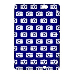 Modern Chic Vector Camera Illustration Pattern Kindle Fire HDX 8.9  Hardshell Case by creativemom