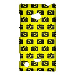 Modern Chic Vector Camera Illustration Pattern Nokia Lumia 720 by creativemom
