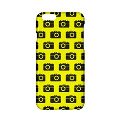 Modern Chic Vector Camera Illustration Pattern Apple Iphone 6/6s Hardshell Case by creativemom