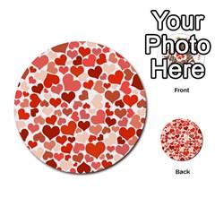Heart 2014 0901 Multi Purpose Cards (round)