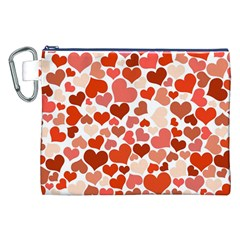 Heart 2014 0901 Canvas Cosmetic Bag (xxl)  by JAMFoto