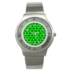 Modern Chic Vector Camera Illustration Pattern Stainless Steel Watches by creativemom