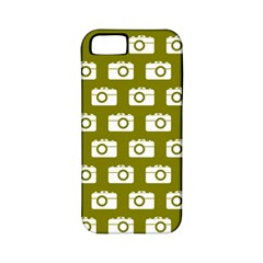 Modern Chic Vector Camera Illustration Pattern Apple Iphone 5 Classic Hardshell Case (pc+silicone) by creativemom