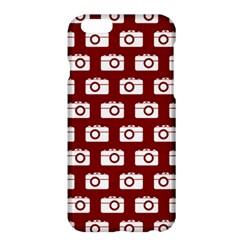 Modern Chic Vector Camera Illustration Pattern Apple Iphone 6/6s Plus Hardshell Case by creativemom
