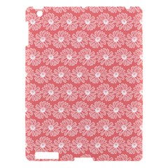 Coral Pink Gerbera Daisy Vector Tile Pattern Apple iPad 3/4 Hardshell Case by creativemom