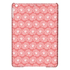 Coral Pink Gerbera Daisy Vector Tile Pattern Ipad Air Hardshell Cases by creativemom