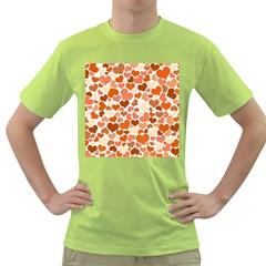 Heart 2014 0902 Green T Shirt by JAMFoto