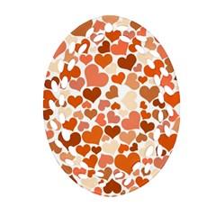 Heart 2014 0902 Ornament (oval Filigree)  by JAMFoto
