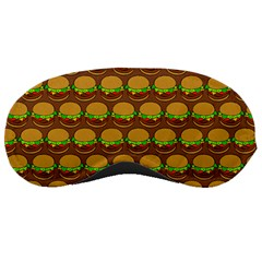 Burger Snadwich Food Tile Pattern Sleeping Masks by creativemom