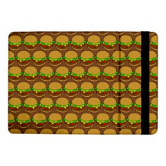 Burger Snadwich Food Tile Pattern Samsung Galaxy Tab Pro 10 1  Flip Case by creativemom
