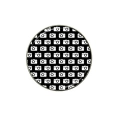 Modern Chic Vector Camera Illustration Pattern Hat Clip Ball Marker (10 Pack) by creativemom