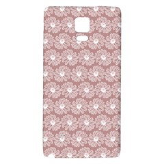 Gerbera Daisy Vector Tile Pattern Galaxy Note 4 Back Case by creativemom