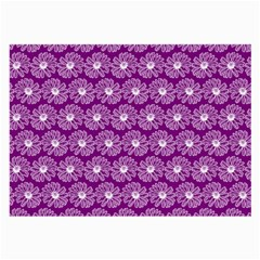 Gerbera Daisy Vector Tile Pattern Large Glasses Cloth