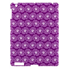 Gerbera Daisy Vector Tile Pattern Apple Ipad 3/4 Hardshell Case by creativemom