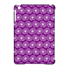 Gerbera Daisy Vector Tile Pattern Apple Ipad Mini Hardshell Case (compatible With Smart Cover) by creativemom