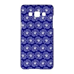 Gerbera Daisy Vector Tile Pattern Samsung Galaxy A5 Hardshell Case  by creativemom