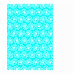 Gerbera Daisy Vector Tile Pattern Small Garden Flag (two Sides) by creativemom
