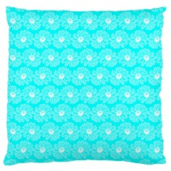 Gerbera Daisy Vector Tile Pattern Large Cushion Cases (one Side)  by creativemom