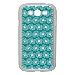 Gerbera Daisy Vector Tile Pattern Samsung Galaxy Grand Duos I9082 Case (white) by creativemom