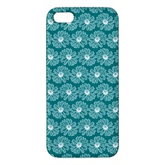Gerbera Daisy Vector Tile Pattern Iphone 5s Premium Hardshell Case by creativemom