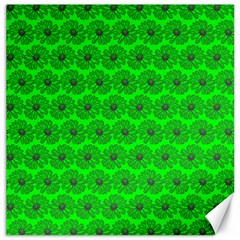 Gerbera Daisy Vector Tile Pattern Canvas 12  x 12   by creativemom