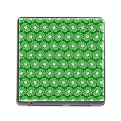 Gerbera Daisy Vector Tile Pattern Memory Card Reader (Square) by creativemom
