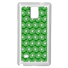 Gerbera Daisy Vector Tile Pattern Samsung Galaxy Note 4 Case (white) by creativemom