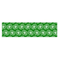 Gerbera Daisy Vector Tile Pattern Satin Scarf (oblong) by creativemom