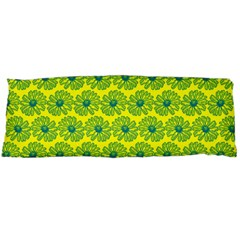 Gerbera Daisy Vector Tile Pattern Body Pillow Cases (dakimakura)  by creativemom
