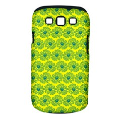 Gerbera Daisy Vector Tile Pattern Samsung Galaxy S Iii Classic Hardshell Case (pc+silicone) by creativemom
