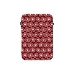 Gerbera Daisy Vector Tile Pattern Apple Ipad Mini Protective Soft Cases by creativemom