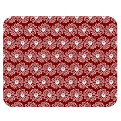 Gerbera Daisy Vector Tile Pattern Double Sided Flano Blanket (medium)  by creativemom