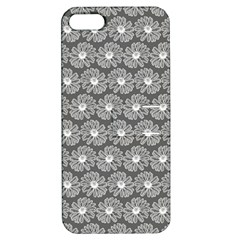 Gerbera Daisy Vector Tile Pattern Apple Iphone 5 Hardshell Case With Stand by creativemom