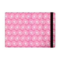 Pink Gerbera Daisy Vector Tile Pattern Apple Ipad Mini Flip Case by creativemom