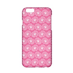 Pink Gerbera Daisy Vector Tile Pattern Apple Iphone 6/6s Hardshell Case by creativemom