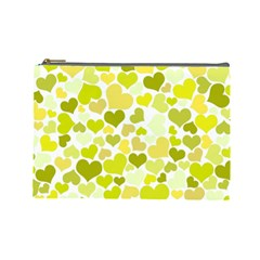Heart 2014 0906 Cosmetic Bag (large)  by JAMFoto