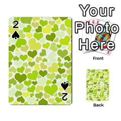 Heart 2014 0907 Playing Cards 54 Designs