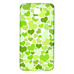 Heart 2014 0908 Samsung Galaxy S5 Back Case (White) by JAMFoto