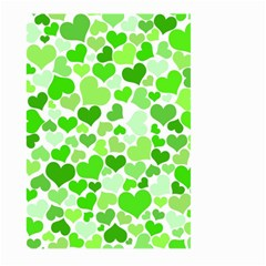 Heart 2014 0910 Large Garden Flag (two Sides) by JAMFoto