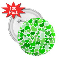 Heart 2014 0911 2 25  Buttons (100 Pack)  by JAMFoto