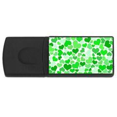 Heart 2014 0912 Usb Flash Drive Rectangular (4 Gb)  by JAMFoto