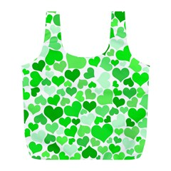 Heart 2014 0912 Full Print Recycle Bags (l)  by JAMFoto