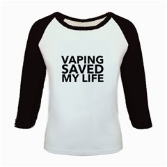 Vaping Saved My Life  Kids Baseball Jerseys by OCDesignss