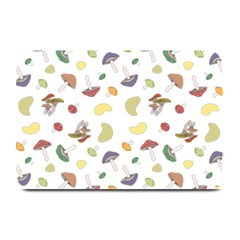 Mushrooms Pattern Plate Mats by Famous