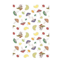 Mushrooms Pattern Shower Curtain 48  X 72  (small)  by Famous