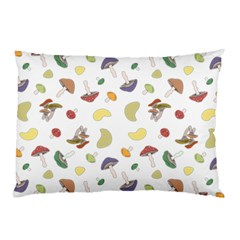 Mushrooms Pattern Pillow Cases (two Sides) by Famous