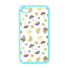 Mushrooms Pattern Apple Iphone 4 Case (color) by Famous
